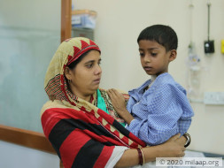 Help Samir Fight Burkitts Lymphoma
