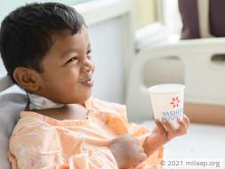 Sardhik needs a bone marrow transplant