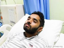 Priyanshu Shekhar needs your help to undergo his treatment