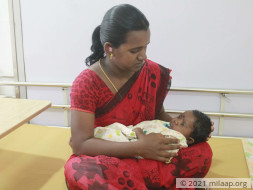 Baby of pavithra needsyour help to undergo the treatment