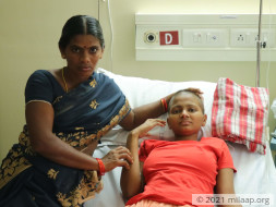 Help Sravani Recover From Rhabdomyosarcoma Of Right Calf