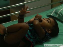 Help Baby Ridhika Recover From An Accident