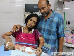 Help Baby of Sivamma Recover