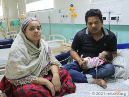 Help Baby of Ayesha Khatun Recover From Chronic Diarrhoea