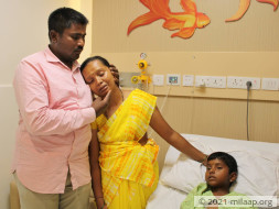 Help Charan who is in ICU