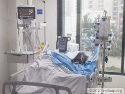 help my friend recover from serious accident...............