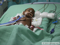 Help Muskhan Recover From Dengue Shock Syndrome