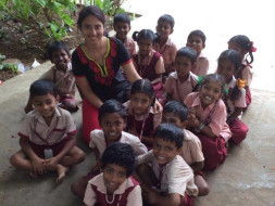 I am fundraising for the low income kids that I teach to provide them with basic facilities.