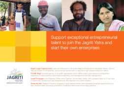I am fundraising to sponsor a potential entrepreneur to participate on Jagriti Yatra