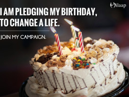 I am pledging my birthday to educate and build a career for my mother's office boy. Support my cause!