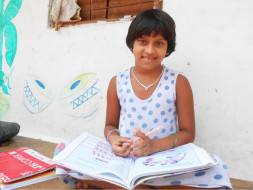 we are giving education for adopt children to achieve their goals.They are very interested in study please help them to study