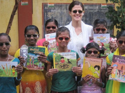 Join our wedding celebrations as we open a whole new world to rural and tribal girls through books