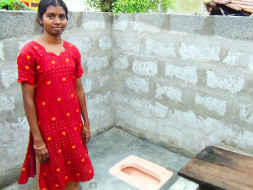 Help build toilets in rural India