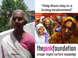 I am fundraising to help elders live with dignity