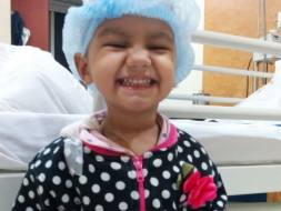 I am running a marathon to appeal to Aid Ridhi to treat Cancer