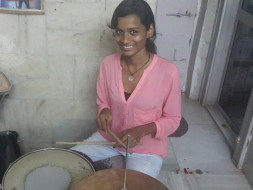 I am pledging my birthday to send Sheetal From Red Light Area To US Drum School