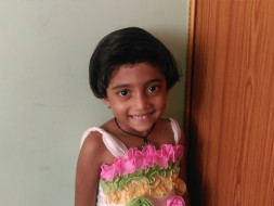 We are fundraising to help Charvi