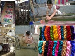 I am fundraising to help weavers be financial independent. Your 1000/- can make a difference.
