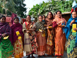 I am pledging to work this month to raise money to provide sustainable  livelihoods to enterprising women in West Bengal