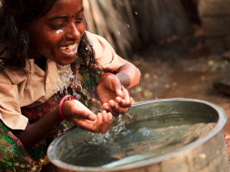 I am pledging my birthday to bring clean water to rural India
