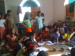 I am pledging my birthday to help children in naxal affected area in getting quality education