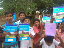 We are running the Bangalore marathon to provide 200 solar lamps to 200 rural children!