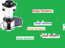 Fundraising for solar lanterns for village  Students