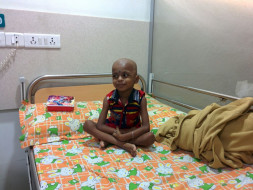 I am fundraising to help 3 year old Rahul fight leukemia