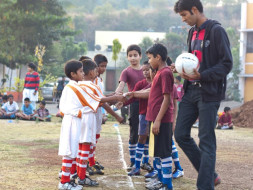 I am fundraising to transform education in low income schools through football