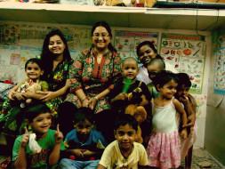 Fundraising to provide chikki to underprivileged children in Dhobighat, Mumbai.