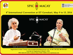 I am fundraising for SPIC MACAY International Convention IIT Guwahati