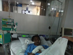 I am fundraising to help my student Prabhat pay for his medical expenses
