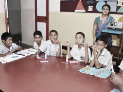 Fundraising for Punarvas school for the mentally challenged children.