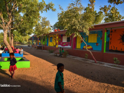 Making Schools Beautiful And Students Cheerful: Laddoo Foundation