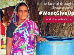 Support these women who won't give up in the face of drought