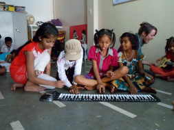 Atma for Dharavi Art Room's MusicWallahs
