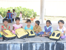 Provide school kits for Government school kids