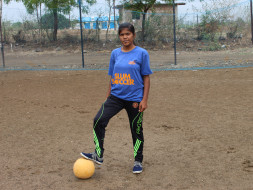 Help Akanksha represent India at the Football Homeless World Cup