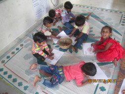 IDL space for providing quality education for underprivileged kids