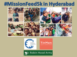 Help feed 5,000 homeless in Hyderabad on Independence Day