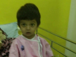 Help save 3 year old baby Kabir