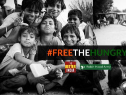 This Independence Day, Let's #FreeTheHungry. Powered by TheBetterIndia