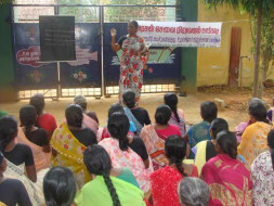 Train the poor shg women for economy development
