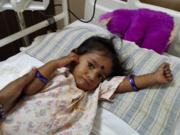 Help 1-year-old Vijitha recover from Dengue