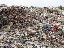 Peace Ride: Clean the Garbage Dump Yard, Mandur