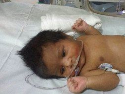 Help save Lakshmi and Nagaraj's 1 week-old baby