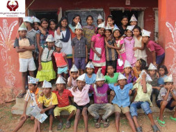 Show you Care by sponsoring education for 40 rural children in Odisha.