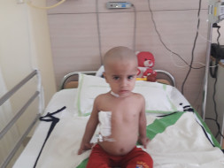 Help Ved undergo a bone marrow transplant
