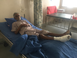 Help Vinayagam With The Surgery To Make Him Mobile Again.
