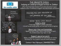 Help Erudite Support A Child This Diwali